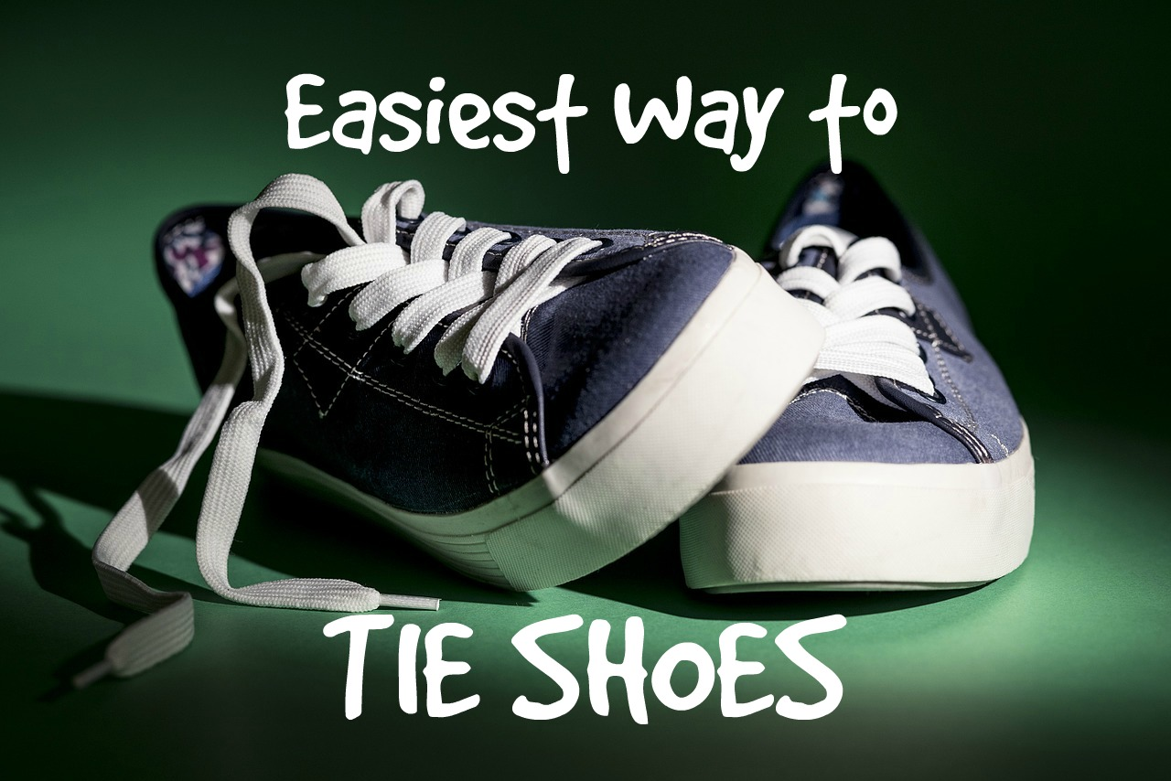 Easiest Way To Tie Shoes For Kids